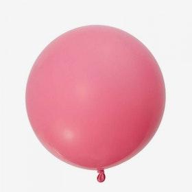 Heliumfylld Jätteballong - Rosa