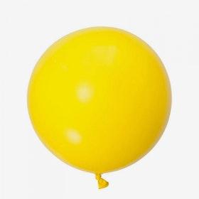 Heliumfylld Jätteballong - Gul