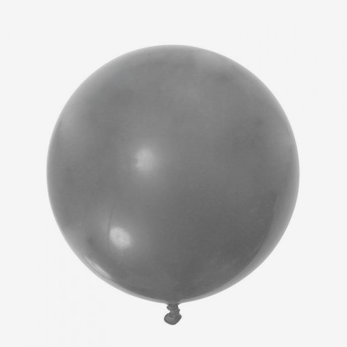 Heliumfylld Jätteballong - Silver
