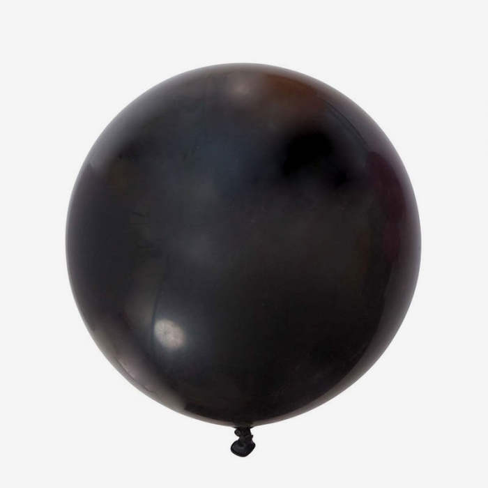 Heliumfylld Jätteballong - Svart