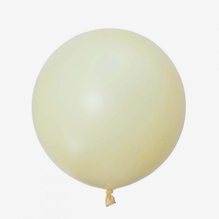 Heliumfylld Jätteballong - Elfenbens Vit