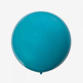 Heliumfylld Jätteballong - Teal