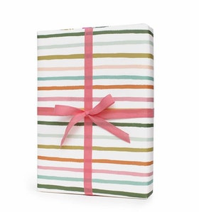 Presentpapper Happy stripes