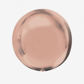 Heliumfylld Folieballong - Orbz Rosé