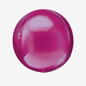 Heliumfylld Folieballong - Orbz Rosa