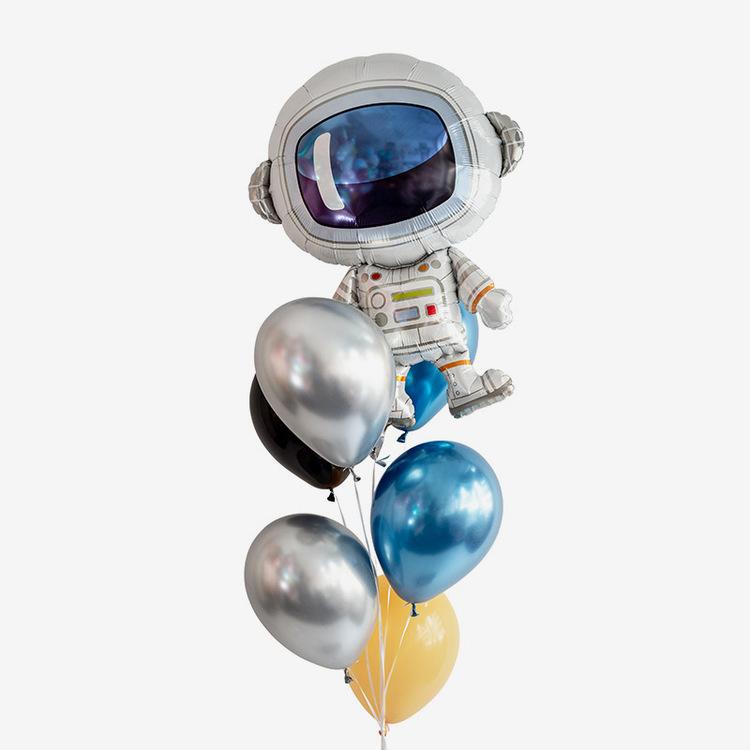 Heliumfylld Ballongbukett - Hello Astronaut