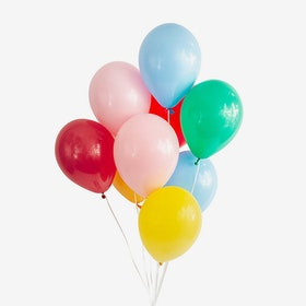 Heliumfylld Ballongbukett - Color mania