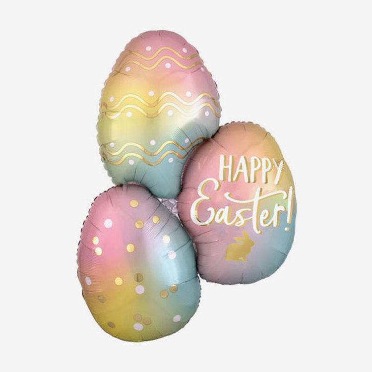 Folieballong - Happy Easter Ägg