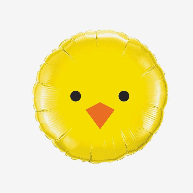 Folieballong - Påskkyckling