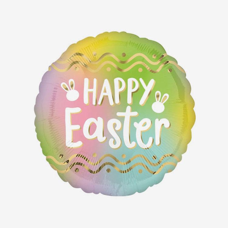 Folieballong - Happy Easter