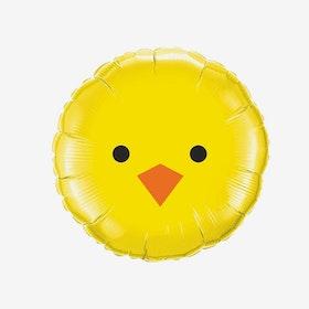 Heliumfylld folieballong - Påskkyckling