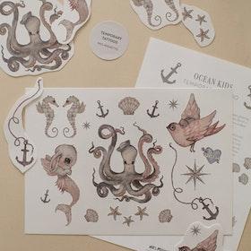 Tatueringar Ocean Kids -  Mrs Mighetto