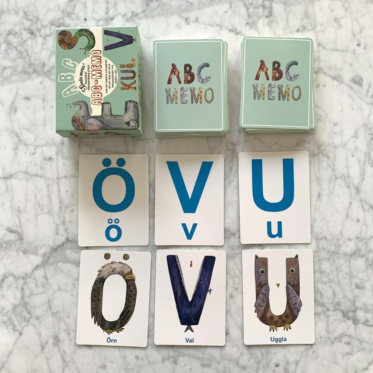 Spel - ABC Memo