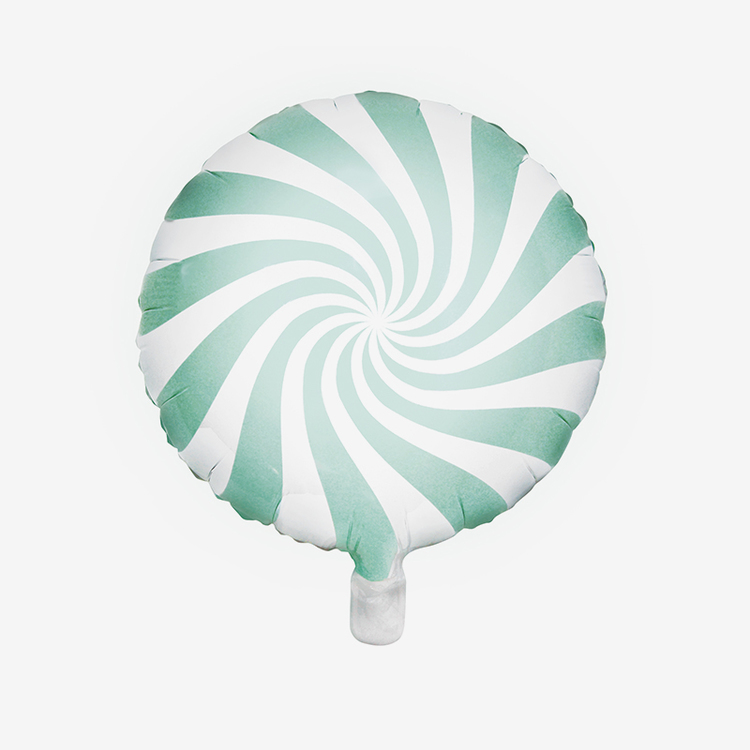 Heliumfylld Folieballong - Candy - Mint