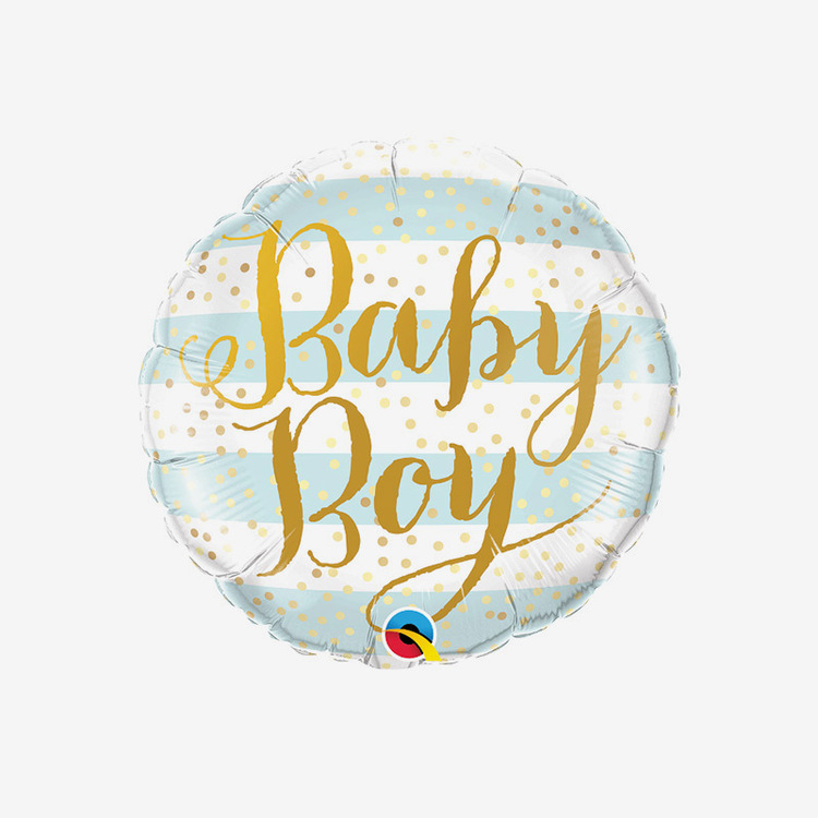 Heliumfylld folieballong - Baby Boy
