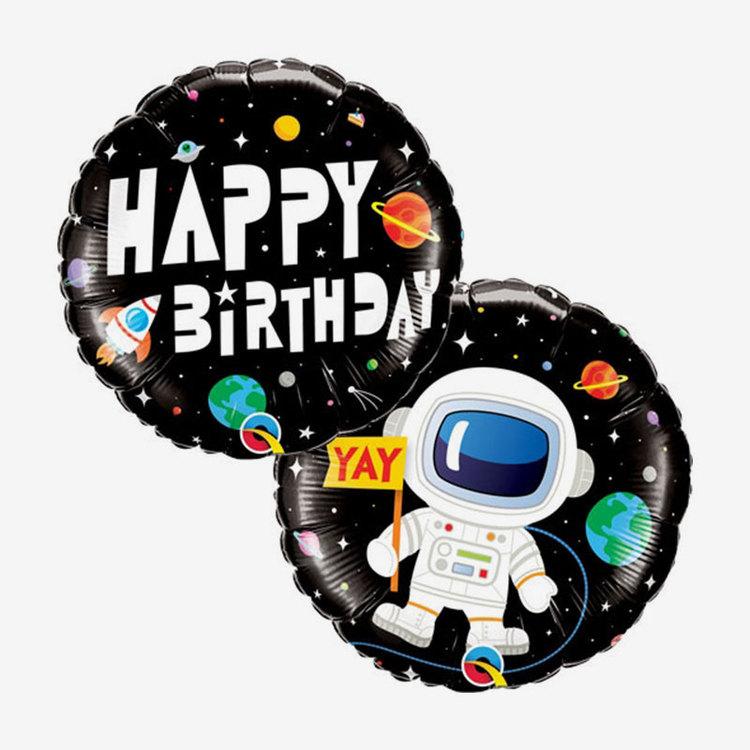 Ballongpost  - Happy Birthday Space