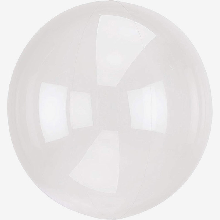 Ballong - Crystal Clear - Genomskinlig