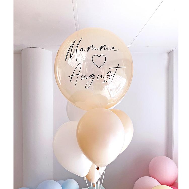 Heliumfylld Ballongbukett - Personlig