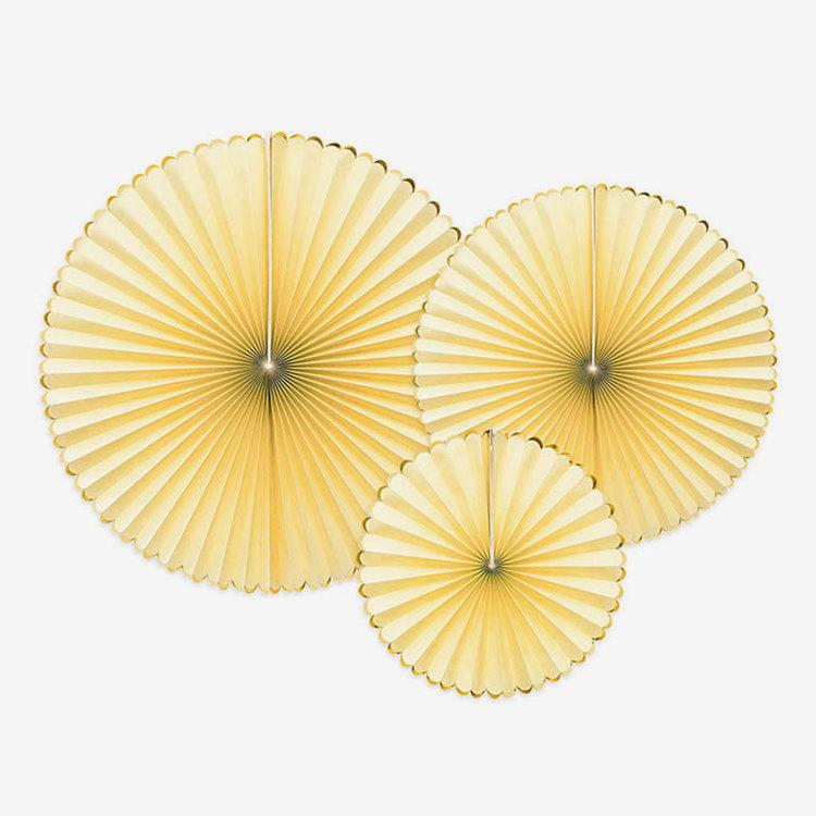 Pinwheels - Ljusgul