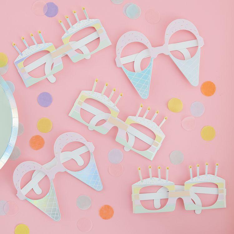 Glasögon - Pastell Party