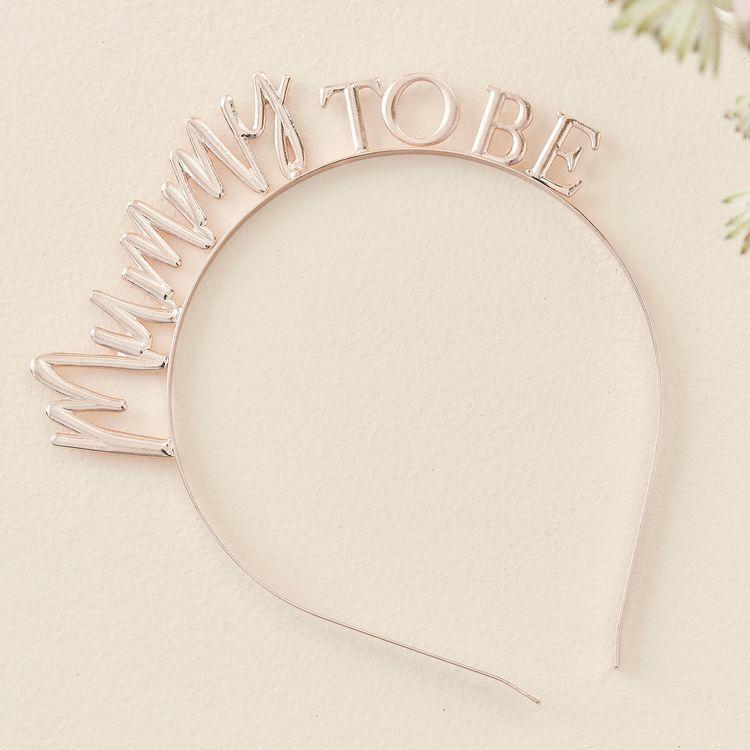 Diadem - Mummy to Be - Rosé