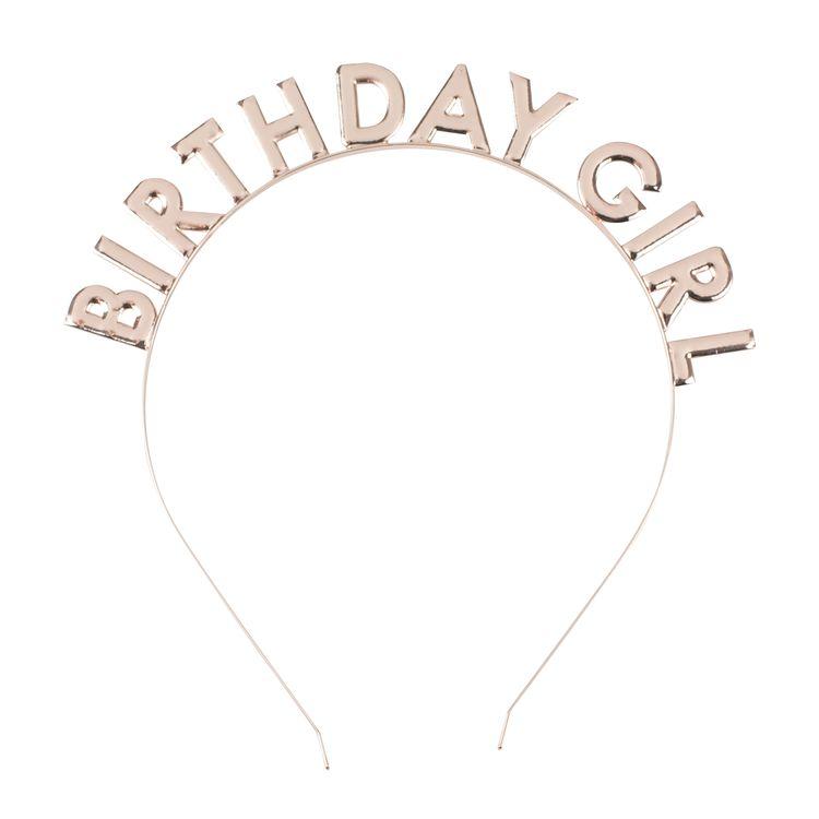Diadem - Birthday Girl - Rosé