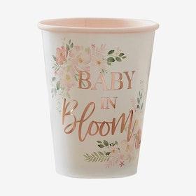 Muggar- Babyshower - Baby in Bloom