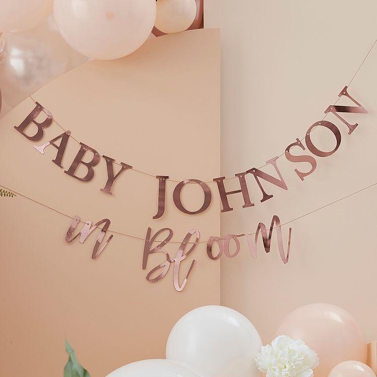 Girlang - Baby in Bloom - Personlig
