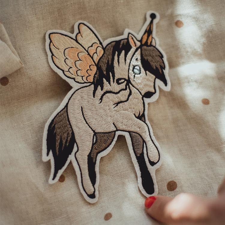 1 Patch Flying pony  -  Mrs Mighetto