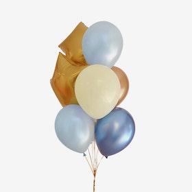 Heliumfylld Ballongbukett - Student - Rising Stars