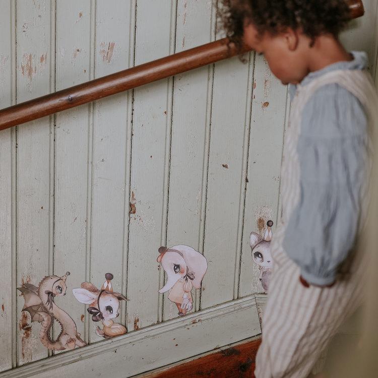 Wall sticker - Mr Anton - Mrs Mighetto
