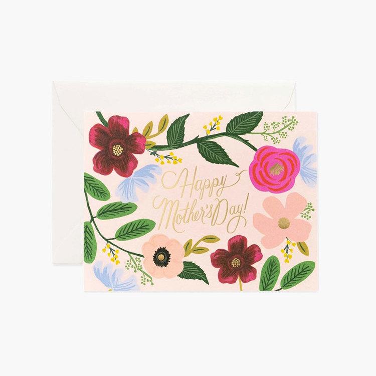 Kort - Happy Mother's Day - Blommor