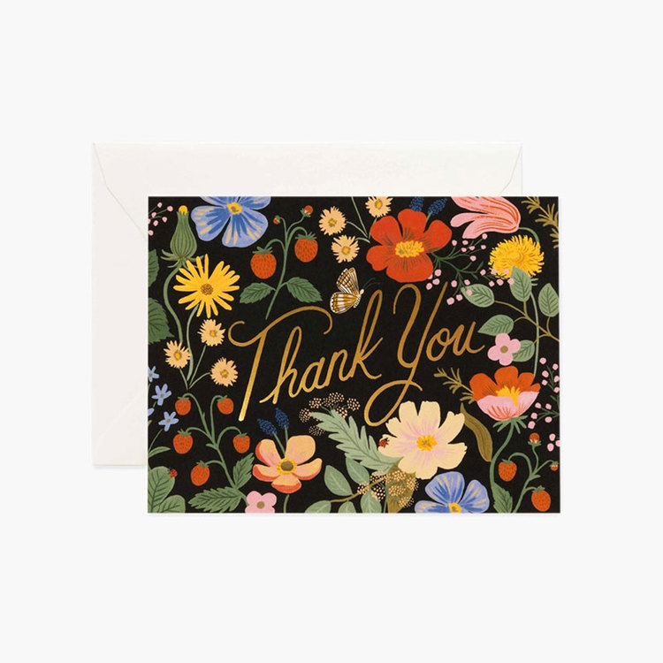 Kort - Thank You - Strawberry Fields