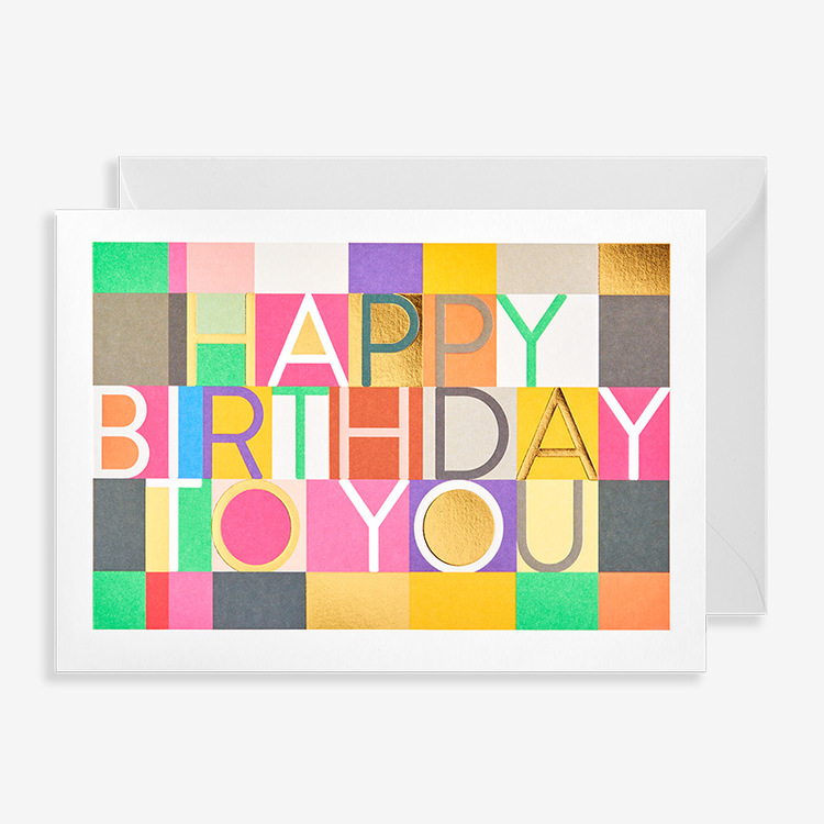 Happy Birthday To You - Bright