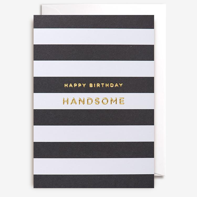 Kort - Happy Birthday Handsome