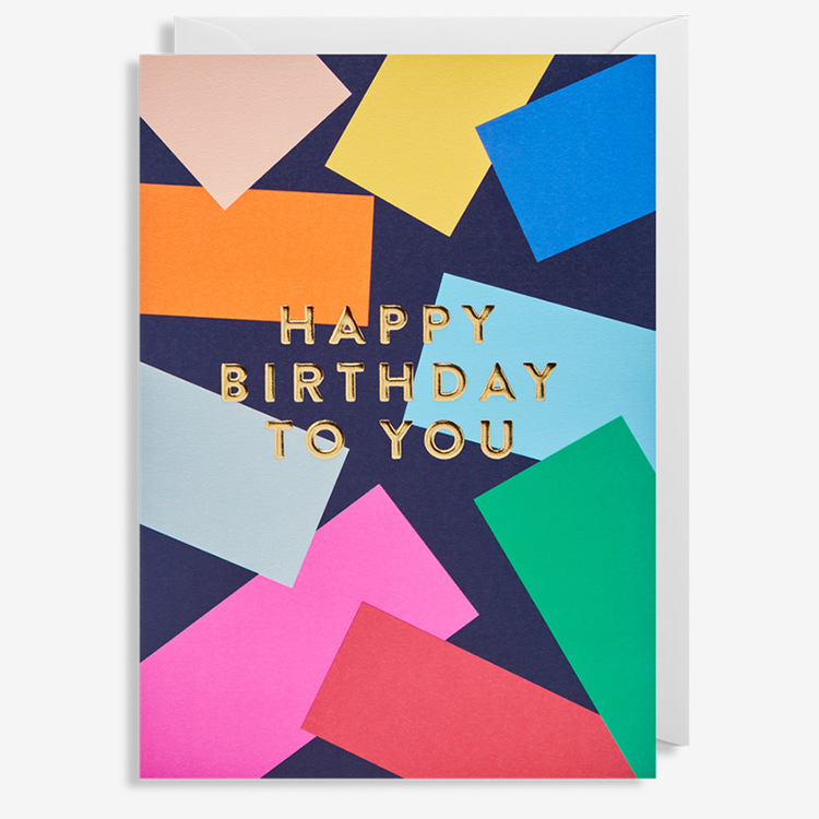 Kort - Happy Birthday To You - Patches