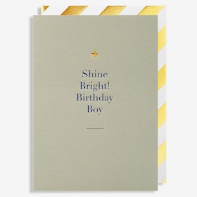 Kort - Shine Bright Birthday Boy