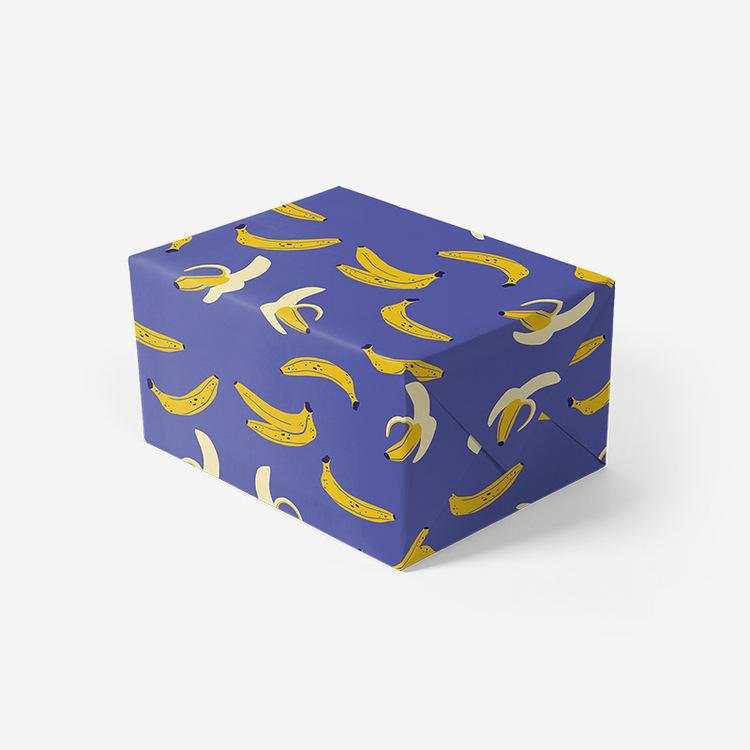 Presentpapper - Banana