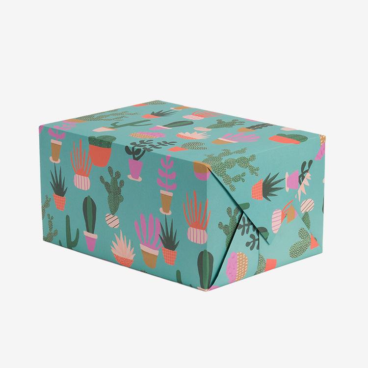 Presentpapper - Kaktusar
