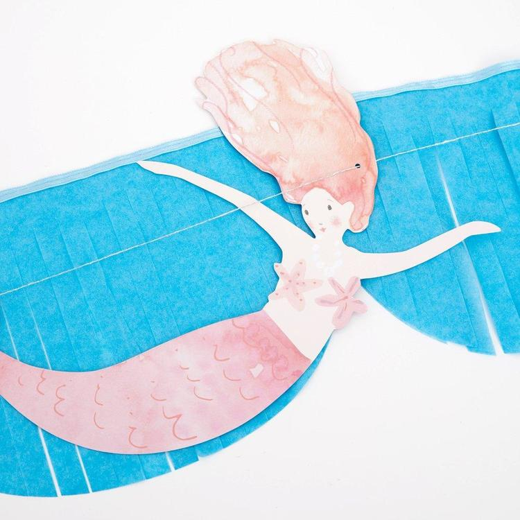 Girlang - Scalloped Fringes - Mermaid
