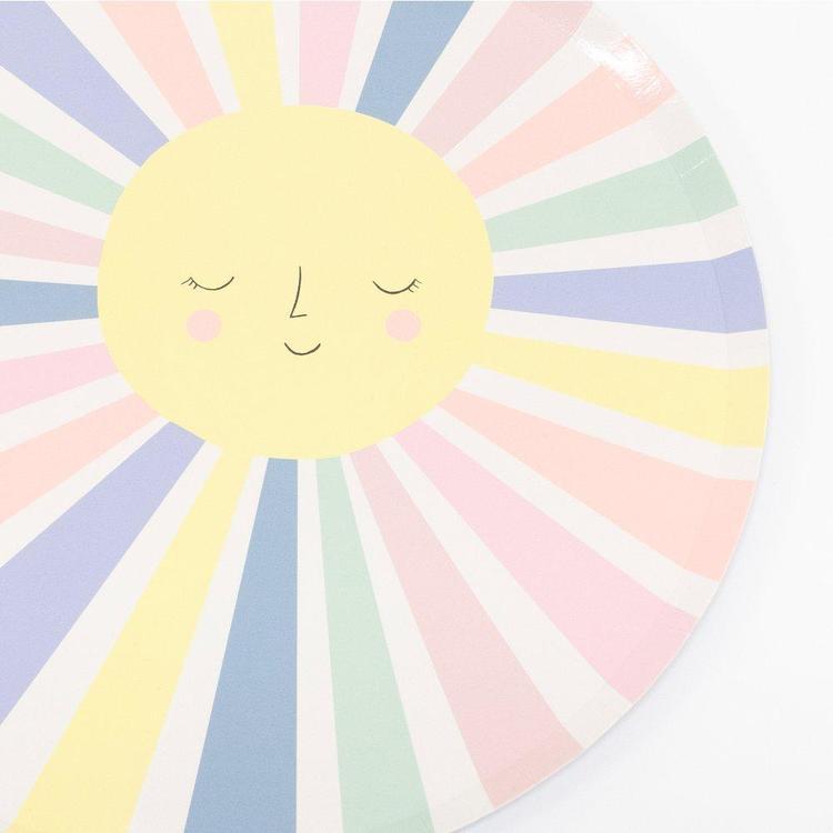 Tallrikar - Sunny Rainbow