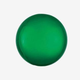Heliumfylld Folieballong - Orbz Grön