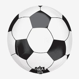 Heliumfylld Folieballong - Fotboll