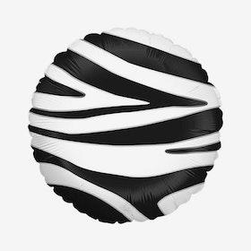 Ballongpost  - Folieballong - Zebra