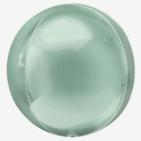 Heliumfylld Folieballong - Orbz Mint