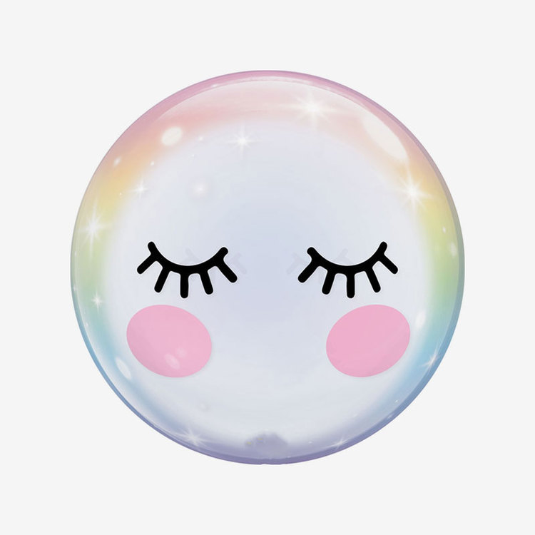 Heliumfylld Ballong - Orbz Eyelashes