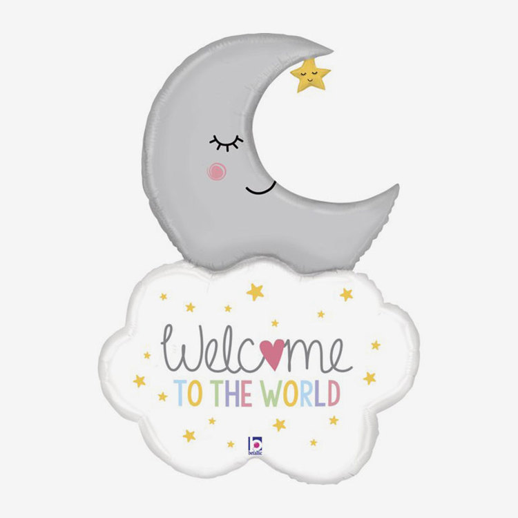 Folieballong - Welcome to the World