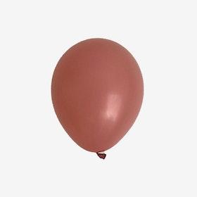 Heliumfylld latexballong 28cm - Canyon Rose