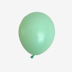 Heliumfylld latexballong 28cm - Mintgrön