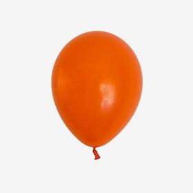 Heliumfylld latexballong 28cm - Orange